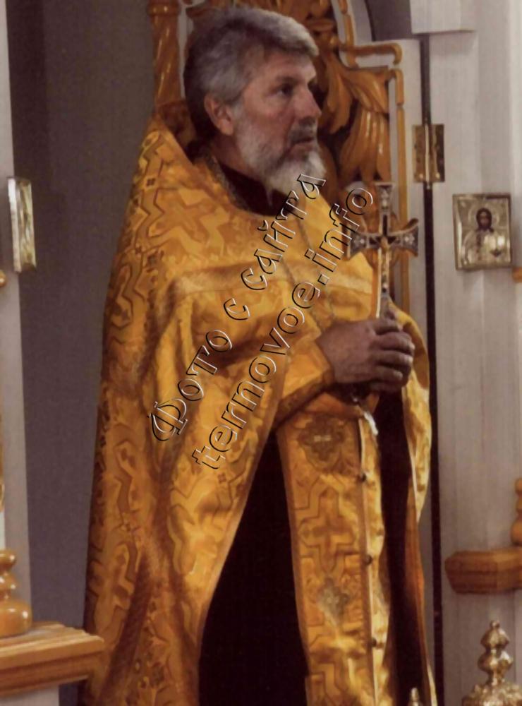 Настоятель Свято-Богоявленского Храма отец Сергий Пирцхелия